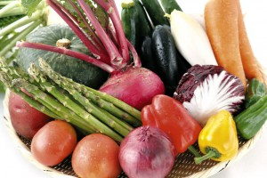 無農薬&減農薬の地元食材