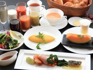 朝食イメージ画像 洋食セットメニュー<br /> 食事会場 2Fレストラン