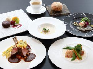 夕食イメージ画像 洋食コース料理<br /> 食事会場 2Fレストラン