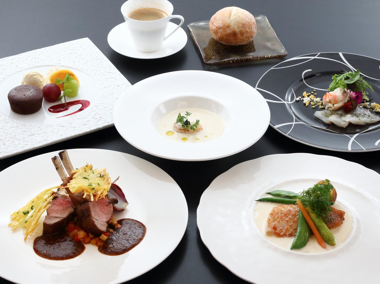 夕食イメージ画像 洋食コース料理