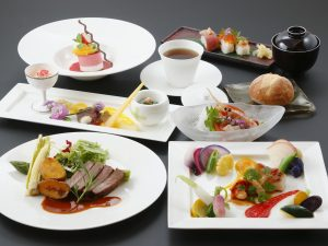 Supper image image Japanese and Western eclectic course meal<br /> Dining venue 2F restaurant